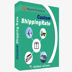 Custom Shipping Rate - Magento Extension