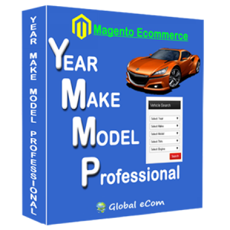 Year Make Model Professional-Magento Extension