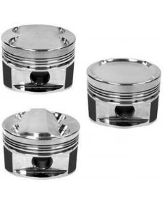 Manley 86.0mm +.5mm Oversized Bore 9.3:1 Dish Piston Set with Rings Hyundai Genesis Coupe