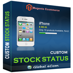 Custom Stock Status - Magento Extension