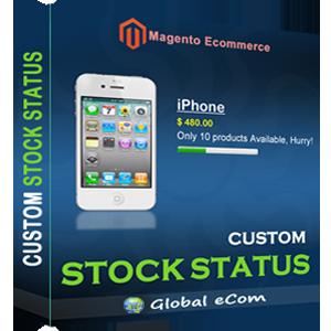 Custom Stock Status - Magento Extension