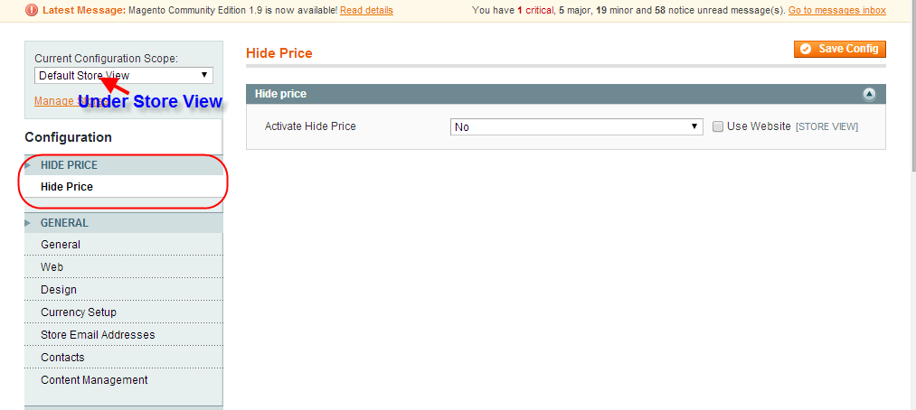 Hide Price Screen4